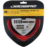 Jagwire Uniwersal Sport XL Zestaw linek i pancerzy hamulca MTB Szosa czerwony