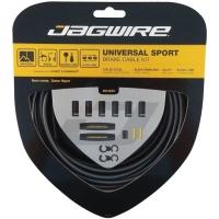 Jagwire Universal Sport Zestaw linek i pancerzy hamulca MTB / Szosa szary