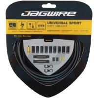 Jagwire Universal Sport Zestaw linek i pancerzy przerzutki MTB / Szosa szary