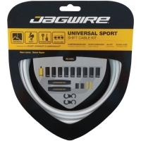 Jagwire Universal Sport Zestaw linek i pancerzy przerzutki MTB / Szosa biały