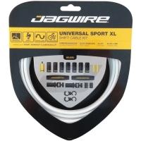 Jagwire Universal Sport XL Zestaw linek i pancerzy przerzutki MTB / Szosa biały