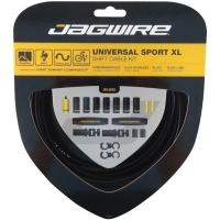 Jagwire Universal Sport XL Zestaw linek i pancerzy przerzutki MTB / Szosa czarny