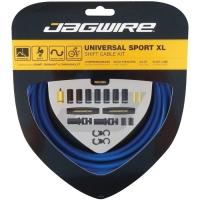 Jagwire Universal Sport XL Zestaw linek i pancerzy przerzutki MTB / Szosa niebieski