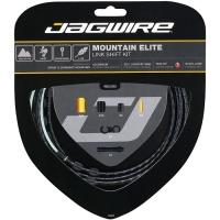 Jagwire Mountain Elite Link Zestaw linek i pancerzy przerzutki MTB czarny