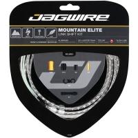 Jagwire Mountain Elite Link Zestaw linek i pancerzy przerzutki MTB srebrny