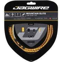 Jagwire Mountain Elite Link Zestaw linek i pancerzy przerzutki MTB złoty