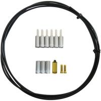 Jagwire Universal Pro Zestaw uszczelnijący linkę przerzutki 4mm z końcówkami srebrny