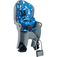 Hamax Kiss Fotelik dziecięcy szaro niebieski + kask