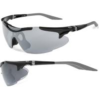 Accent Voyager Okulary rowerowe czarno grafitowe