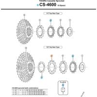 Shimano Koronka kasety Tiagra CS 4600