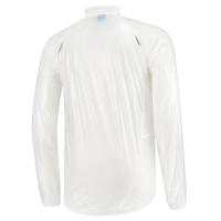 Rogelli Crotone Kurtka przeciwdeszczowa biała transparentna