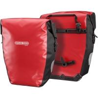 Ortlieb Back Roller City Sakwy rowerowe tylne czarno-czerwone 40L