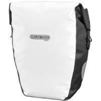 Ortlieb Back Roller City Sakwy rowerowe tylne czarno-białe 40L