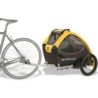 Burley Tail wagon Przyczepka dla psów żółta