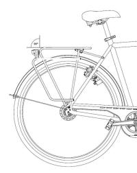 """Tubus Logo Classic Bagażnik rowerowy tylny 29"""""""