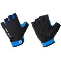 Accent Bora rękawiczki rowerowe czarno niebieskie