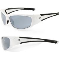 Accent Freak Okulary rowerowe biało czarne