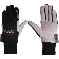 Chiba Nordic Rękawiczki zimowe czarne