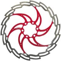XLC BR X02 Tarcza hamulcowa czerwona