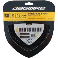 Jagwire Uniwersal Sport Zestaw linek i pancerzy przerzutki MTB / Szosa czarny
