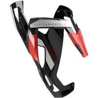 Elite Custom Race Plus Koszyk na bidon czarno czerwony
