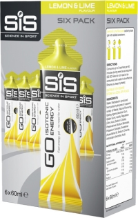SIS Nutrition Żel 6 Pack Lemon 6x60ml