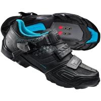 Shimano SH WM64 Damskie buty rowerowe MTB SPD czarne