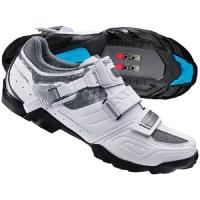 Shimano SH WM64 Damskie buty rowerowe MTB SPD białe