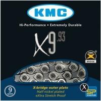KMC X9.93 Łańcuch 9 rzędowy 116 ogniw + spinka