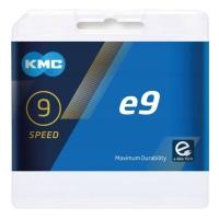 KMC X9E Łańcuch 9 rzędowy 136 ogniw + spinka