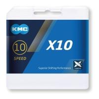 KMC X10.73 Łańcuch 10 rzędowy 114 ogniw + spinka