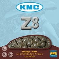 KMC Z8 Łańcuch 6,7,8 rzędowy 116 ogniw + spinka