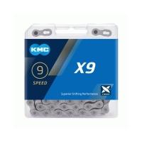 KMC X9.73 Łańcuch 9 rzędowy 114 ogniw + spinka