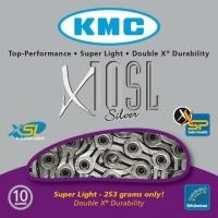 KMC X10SL Łańcuch 10 rzędowy 114 ogniw + spinka