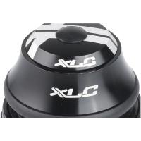 "XLC HS I07 Stery półzintegrowane tapered 1 1/8"" - 1 1/4"" czarne"