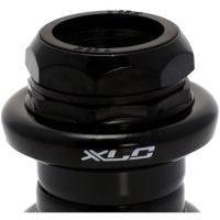 """XLC HS S02 Stery zewnętrzne 1 1 /8"""" 25,4/30,0mm czarne"""