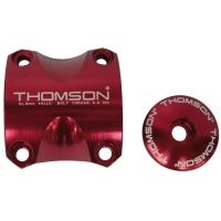 Thomson Elite X4 MTB Zacisk do mostka + Kapa sterów 1 i 1/8 cala czerwona