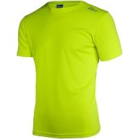 Rogelli Promo Koszulka biegowa żółta