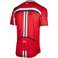 Rogelli Brescia Koszulka rowerowa letnia czerwona