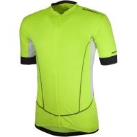 Rogelli Ponza Koszulka rowerowa żółto biała