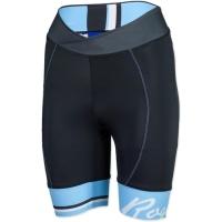 Rogelli Salisa Spodenki rowerowe damskie czarno błękitne