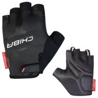 Chiba Professional Rękawiczki rowerowe czarne