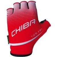 Chiba Solar Rękawiczki rowerowe czerwone