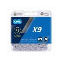 KMC X9 EPT Łańcuch 9 rzędowy 116 ogniw + spinka