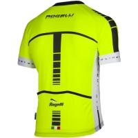 Rogelli Umbria Koszulka rowerowa letnia żółto czarna