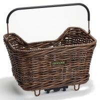 Racktime Baskit Willow Koszyk na bagażnik tylny z adapterem Snapit