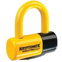 Kryptonite Evolution series 4 Disc Lock Blokada tarczy hamulcowej żółty
