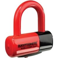 Kryptonite Evolution series 4 Disc Lock Blokada tarczy hamulcowej czerwony