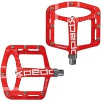 Xpedo Spry Pedały platformowe MTB / BMX/ Freeride / Downhill czerwone