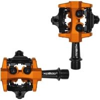 Xpedo CXR Pedały SPD XC / MTB alu czarno pomarańczowy